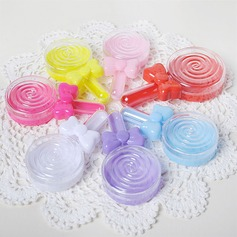 Lovely/Simple/Round Plastic Favor Boxes (Set of 12)