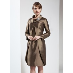 Long Sleeve Taffeta Special Occasion Wrap (013017556)