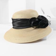 Senhoras Charmosa/Simples Poliéster Chapéus praia / sol