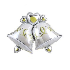 Двойные Колокола Алюминиевая фольга воздушный шар