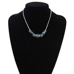 Unik Harts Koppar Damer' Mode Halsband