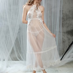 Polyester/Tulle Bridal/Feminine Sleepwear