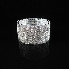 Shining Alloy With Rhinestone Ladies' Bracelets