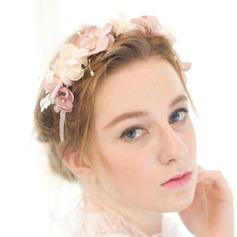 Belle/En forme de fleur Satiné Bandeaux