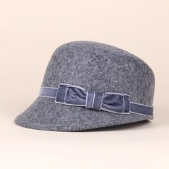 Señoras' Glamorosa Madera Bombín / cloché Sombrero