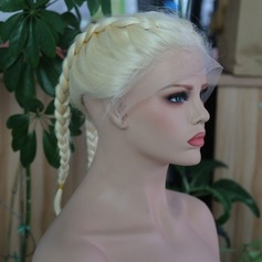 Straight Syntetisk Lace Front Parykar 240g