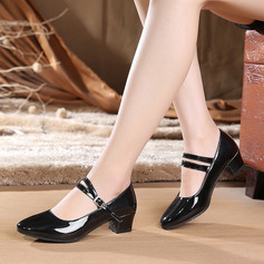 Women's Leatherette Heels Ballroom Character Shoes Dance Shoes