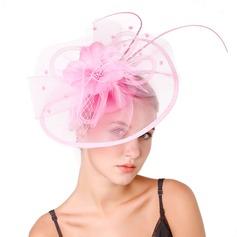 Ladies ' Særlige/Classic/Elegant/Enestående/Enkle Netto garn med Fjer Fascinators/Kentucky Derby Hatte