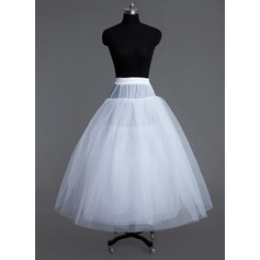 Women Tulle Netting Floor-length 6 Tiers Petticoats