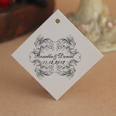 Personalizado Design floral papel cartão duro Marcações