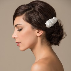 Lovely Satin Combs & Barrettes