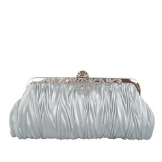 Gold Gorgeous Silk Evening Clutches More Colors Available(005005399)