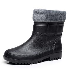 Hombres Caucho Botas de lluvia Casual Botas de caballero (261172540)
