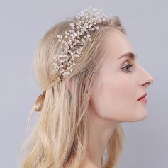 Romántico La perla de faux Diademas