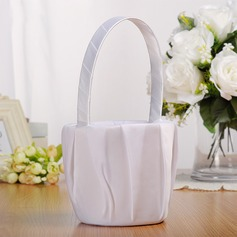 Classic Flower Basket in Cloth
