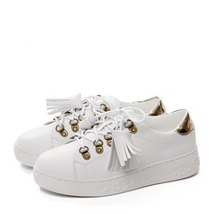Women's leatherette With Lace-up Sneakers (247147919)