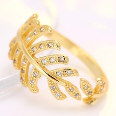 Nice Zircon Copper Ladies' Fashion Rings