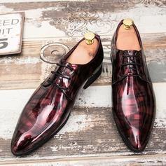 Menn Lær Blondér Avslappet Pen sko Oxfordsko til herre (259208024)