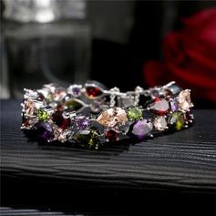 Uniek Messing met Zirkoon Dames Fashion Armbanden