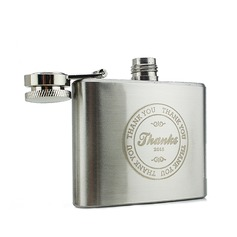 Personalized Stainless Steel Flask (20 letters or less)
