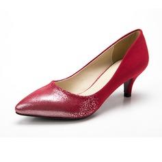 De mujer Ante Tacón stilettos Salón Cerrados zapatos