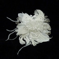 Fashion Crystal/Feather Flowers & Feathers