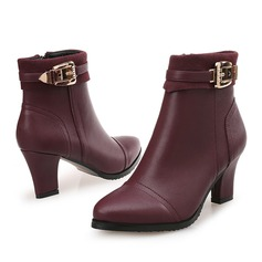 Femmes Similicuir Talon bottier Bottes avec Autres chaussures