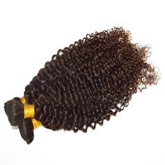 5A Virgin / remy Kinky Curly les cheveux humains Tissage en cheveux humains (Vendu en une seule pièce) 100 g