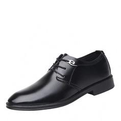 Mænd Kunstlæder Blondér Derbies Casual Pæne sko Oxfords til Herrer