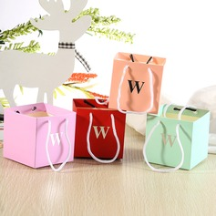 Cubic Card Paper Favor Bags