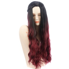 High temperature Wavy Long Layered Synthetic Wigs African American Wigs (219123959)