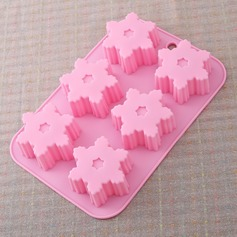 Snowflake Silicone Cake Mould