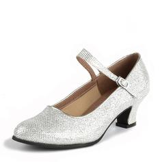 De mujer Brillo Chispeante Tacones Sala de Baile Zapatos de danza