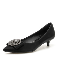 Kvinnor PU Stilettklack Pumps skor