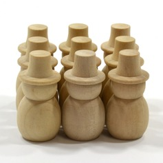 Lovely Wooden Creative Gifts (Set of 10)
