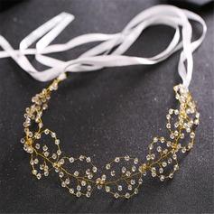 Klassisk stil Kristall/Strass Pannband (Säljs i ett enda stycke)