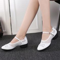 De mujer Piel Malla Estilo Moderno Jazz Zapatillas Zapatos de danza