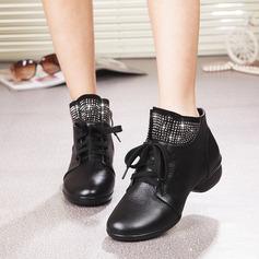 De mujer Piel Zapatillas Estilo Moderno Jazz Zapatillas Zapatos de danza