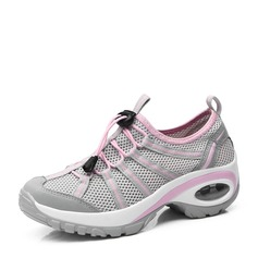 Women's mesh With Lace-up Sneakers (247148162)