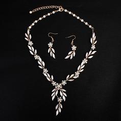 Elegant Strass/Fauxen Pärla med Strass/Fauxen Pärla Damer' Smycken Sets