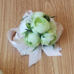Girly de Satiné Corsage du poignet -