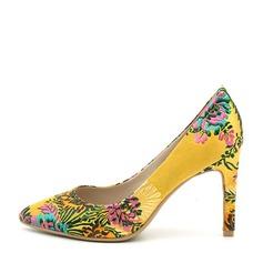 Frauen Stoff Stöckel Absatz Absatzschuhe Geschlossene Zehe mit Applikationen Schuhe