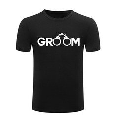 Groom Gifts - Modern Fashion Cotton T-Shirt (Sold in a single piece) (257171745)