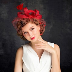 Ladies' Charming Feather/Net Yarn With Feather/Tulle Fascinators/Tea Party Hats