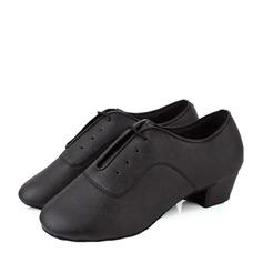 Niños Cuero Entrenamiento Zapatos de danza