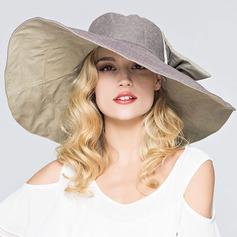 Señoras' Moda poliéster Disquete Sombrero