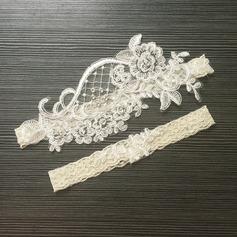 Pizzo Elegante Nuziale/Femminile Giarrettiere (041218643)