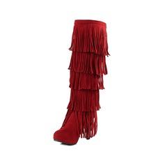 Vrouwen Suede Stiletto Heel Closed Toe Knie Lengte Laarzen schoenen