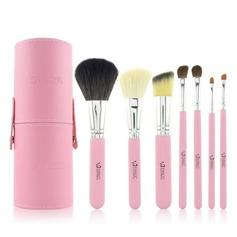 Atraente 7Pcs Escova cilindro tubo Acessórios para maquiagem