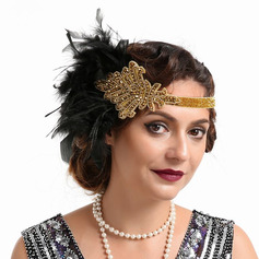 Dames Betoverend/Uniek/Geweldig/Het oog Springende Feather met Feather Fascinators/Kentucky Derby Hats/Theepartij hoeden